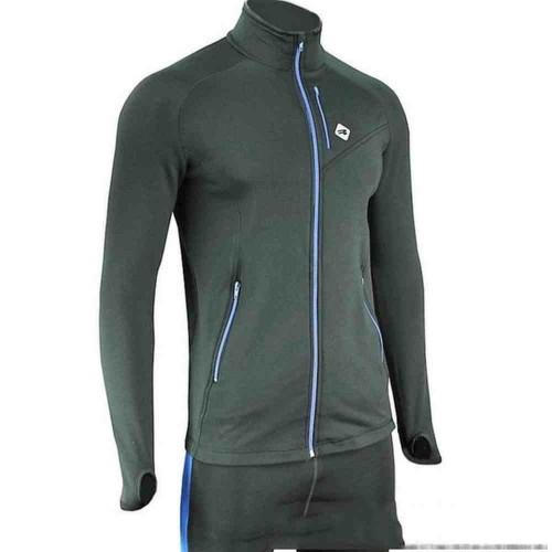 Свитер спортивный Radical Boost черный  (boost-black-blue)