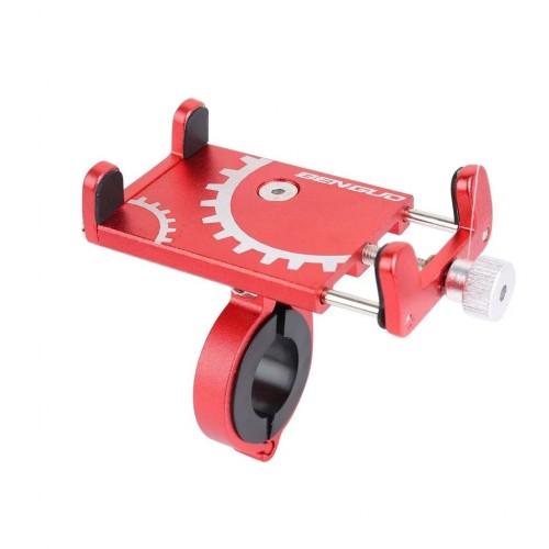 Велосипедный держатель для смартфона Benguo bg-087 алюминий, красный (bg-087-red)