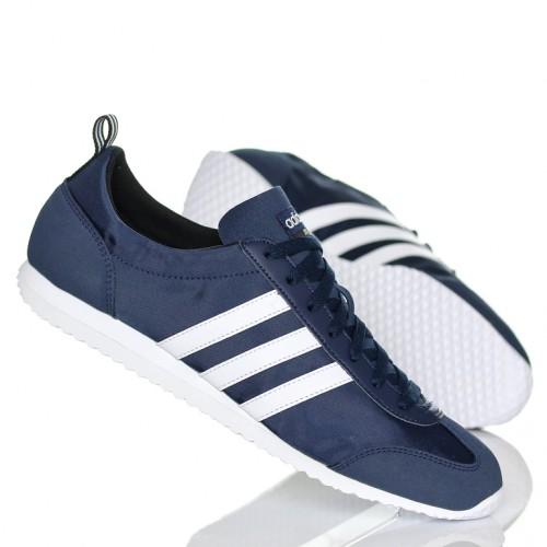 Кроссовки Adidas VS JOG синий текстиль (AW4702)
