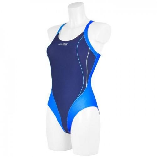 Купальный костюм Aqua-Speed Izabel наві/голубой (44067)