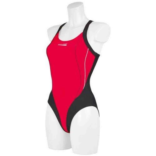 Купальный костюм Aqua-Speed Izabel Черный /красный (44068)