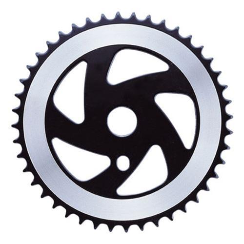 Звезда для шатуна круизера 44Z, черный - серебристый (C-UN-MK-0092)