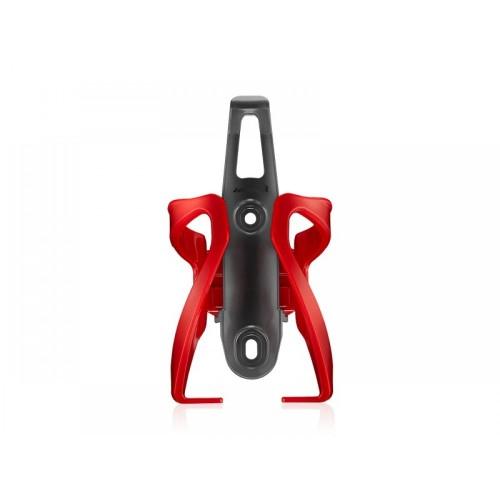 Крепление для фляги Ibera Adjust IB-BC17 с регулировкой, красный (KOB017)