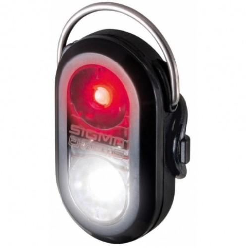 Лампа задняя Sigma Micro Duo Dual Led, черный (OBX250)