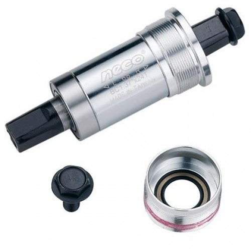 Каретка NECO B-920 122.5 мм. чашки алюминий (CMK121)