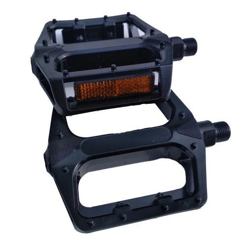 Педали FPD NWL-219 BMX алюминиевые, 1/2 черный (NWL-219-1-2)