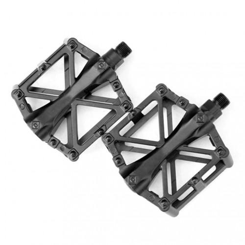 Педали DN PS-313 алюминиевые, 9/16 черный (PS-313)