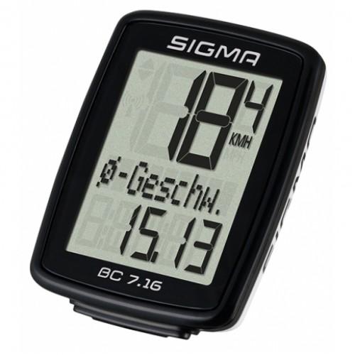 Велокомпьютер Sigma Sport BC 7.16 проводной (LIS716)