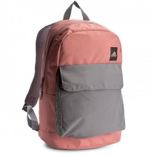 Рюкзак Adidas коралловый/серый (76997)