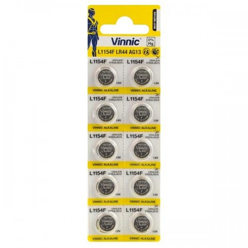Батарейка Vinnic A76/1154/LR44 для Sigma (LIS340)