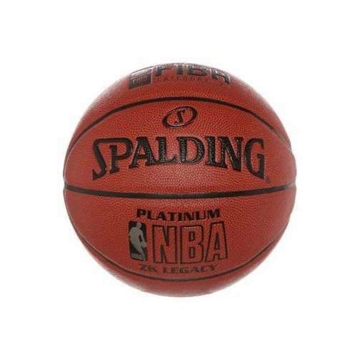 Мяч баскетбольный Spaldind NBA Platinum Оранжевый (63311)