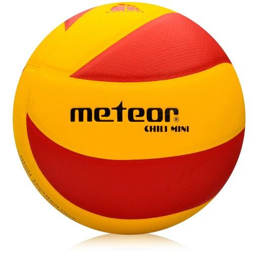 Мяч волейбольный Meteor MICRO PU MINI #4 оранжевый/красный (10065)