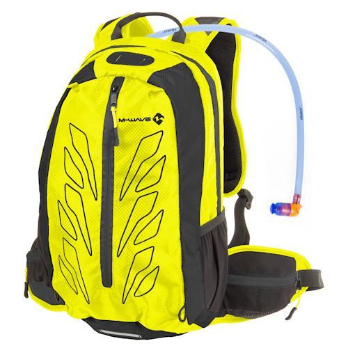 Рюкзак M-Wave Rough Ride с гидропаком, желтый (A-SP-0222)