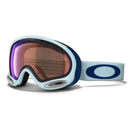 Маска горнолыжная Oakley A-FRAME Blue голубой (G-7)