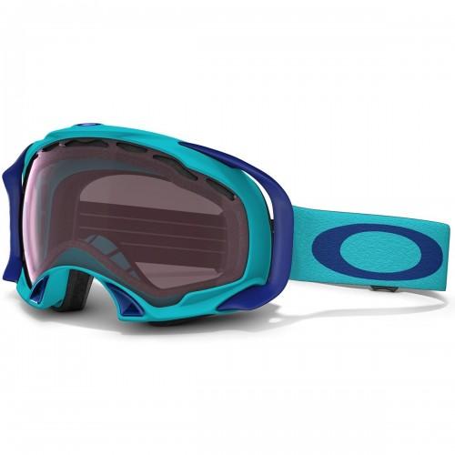 Маска горнолыжная Oakley Splice Turquoise голубой (G-6)