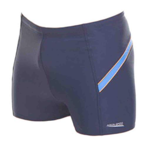 Плавки Aqua-Speed William Наві/голубой/оранжевый (43326)