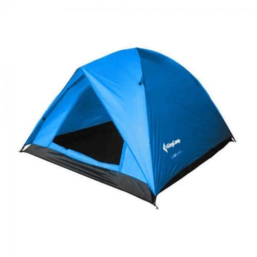 Палатка King Camp Family 2+1  KT3012 синий (80001)