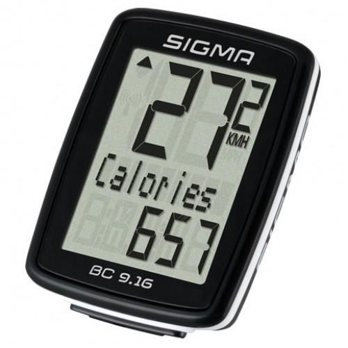 Велокомпьютер Sigma Sport BC 9.16 проводной (LIS916)