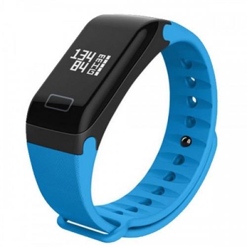 Фитнес браслет Smart Band F1 синий (F1-bl)