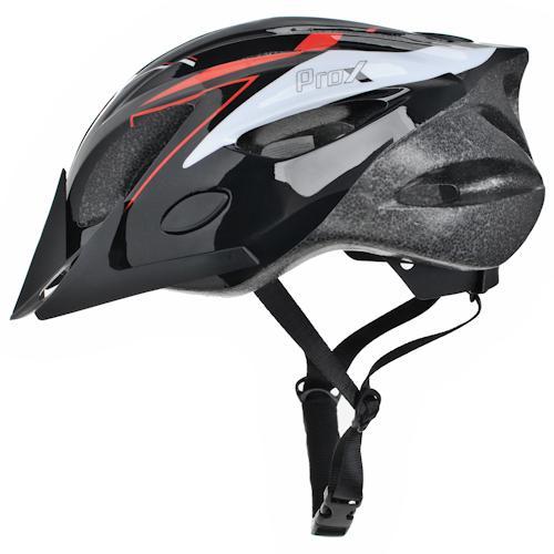 Шлем велосипедный ProX Thunder черный / красный (A-KO-0132)