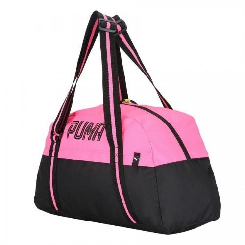 Сумка Puma Fundamentals 20л Черный /розовый (75358)