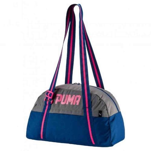 Сумка Puma Fundamentals Серый/синий/розовый (75364)