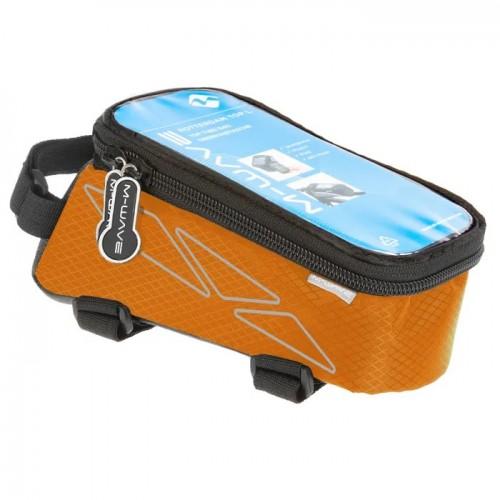Сумка на раму для смартфона M-Wave Rotterdam оранжевый (A-SP-0095)