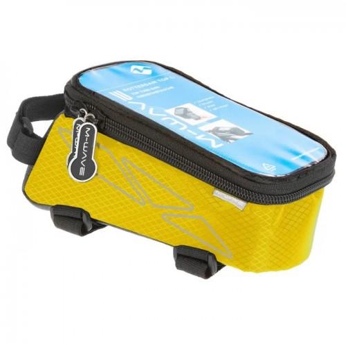 Сумка на раму M-Wave Rotterdam для смартфона, желтый (A-SP-0094)
