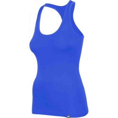 Спортивная майка 4F синяя женская (H4L17-TSD007-1284)