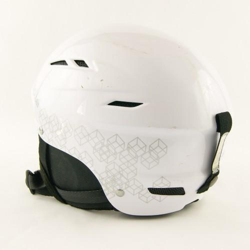 Горнолыжный шлем Bolle белый глянец (H-024)