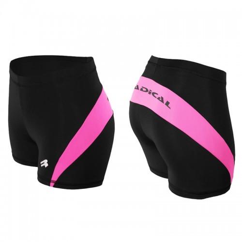 Шорты-Трусы женские термоактивные Radical FLEXY черно-розовый (Flexy-pink)