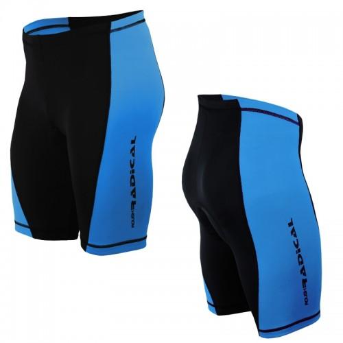 Велошорты, велотрусы с памперсом Racer Pro Черный /синий (racer-pro-lite-blue)