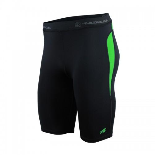 Термоактивные шорты Radical Rapid черно-зеленый (Rapid-green)