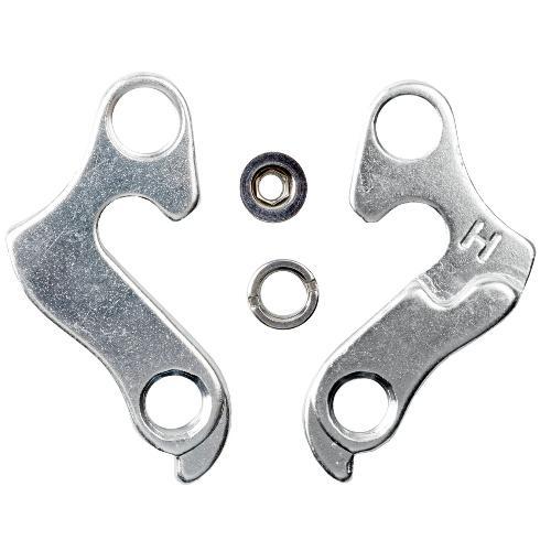 Крюк для рамы Merida. Norco, Kona, Focus, серебристый (C-RA-0234)