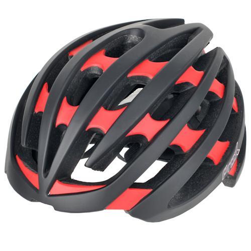Шлем велосипедный ProX No Limit черный / красный (A-KO-0117)