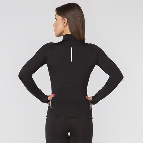 Кофта спортивная Radical Aphrodite черный /серый (Aphrodite-k-grey)