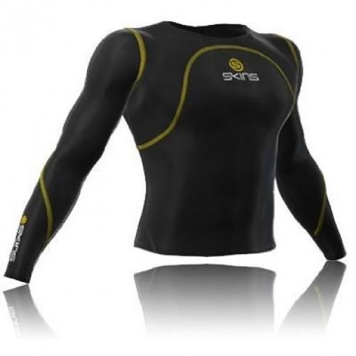 Компрессионная кофта Skins Long Sleeve черный  (long-sleeve-bl)