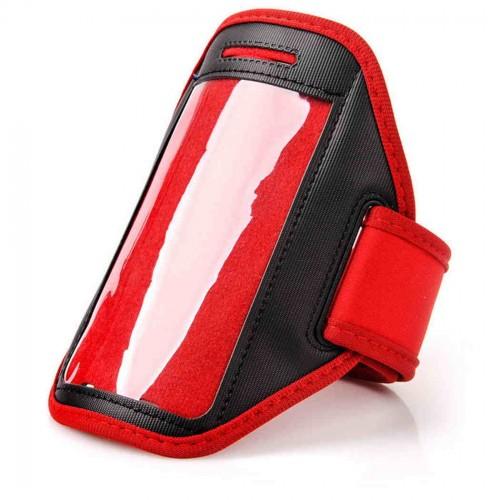 Чехол-Кейс Meteor  для телефона на руку красный (23772)