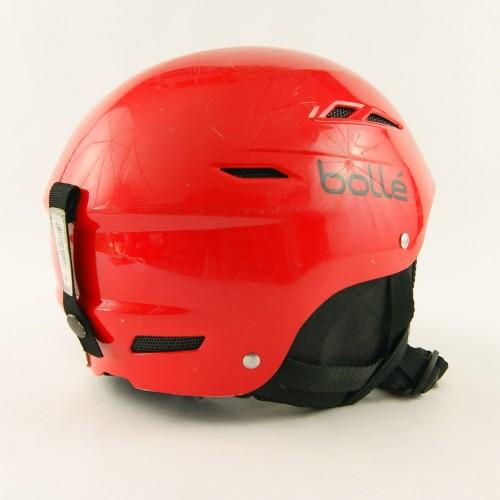 Горнолыжный шлем Bolle красный глянец (H-023)