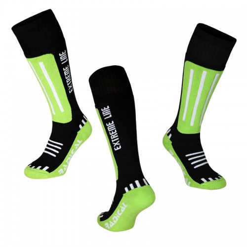 Носки лыжни Radical EXTREME LINE зеленый (Extreme-line-green)
