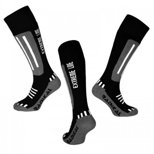 Носки лыжни Radical EXTREME LINE черный  (Extreme-line-black)