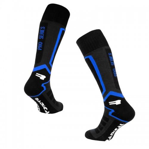 Лыжные носки Radical Pro Series Черный /синий (Pro-series-blue)