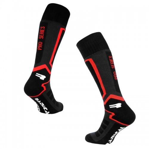 Носки лыжни Radical Pro Series Черный /красный (Pro-series-red)