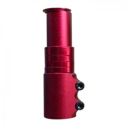 """Адаптер для руля GJB-012 Heads UP 1-1 / 8"""", 110 мм, красный (GJB-012-red)"""