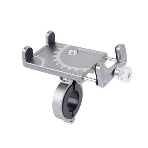 Велосипедный держатель для смартфона Benguo bg-087 алюминий, серый (bg-087-gray)