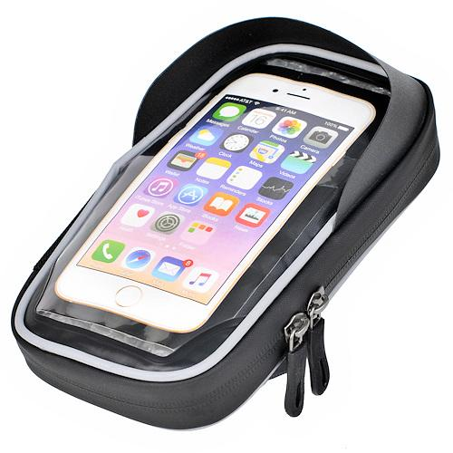 """Велосумка Prox Nebraska 318 для смартфона 6,2"""", черный (A-SP-0248)"""