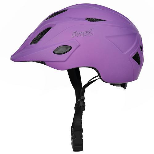 Шлем велосипедный ProX Flash, пурпурный (A-KO-0155)