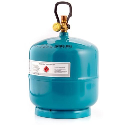 Баллон газовый Milmet зеленый (76016)