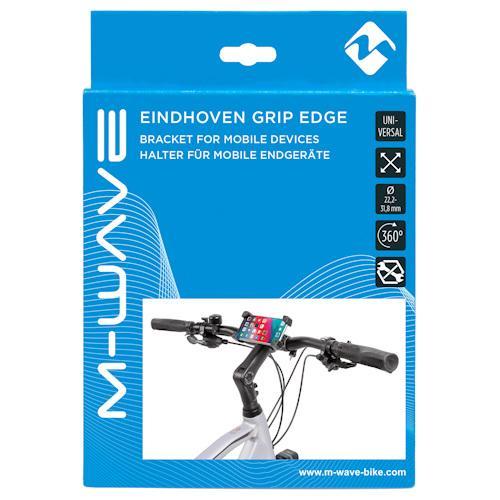 Велосипедный держатель для смартфона M-Wave Eindhoven, черный (A-SP-0223)