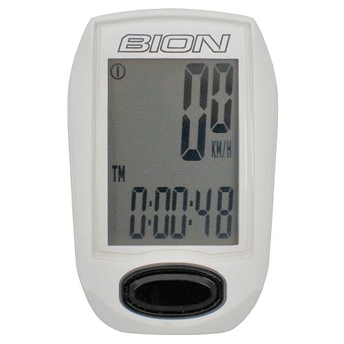 Велокомпьютер Bion CY-B312 беспроводный Белый (A-L-0040)